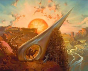 Illustration de Vladimir Kush